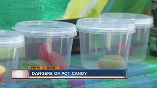 A look at potential dangers of pot candy to kids