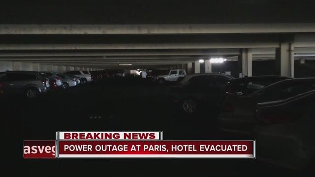 Big Las Vegas casino-hotel evacuated due to power outage