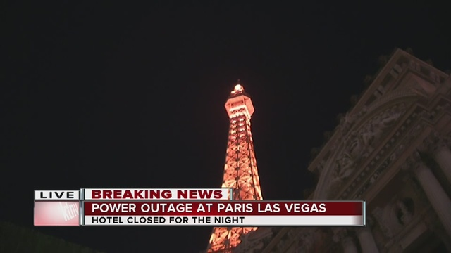 Big Las Vegas casino-hotel evacuated due to power outage