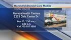 Care Mobile providing dental work for kids