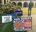 Marco's giving away free pizza on Election Day