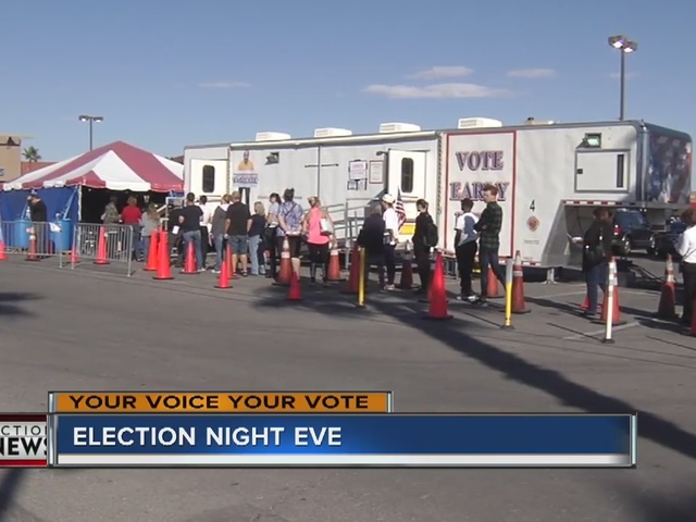 RALSTON: Nevada early voting numbers ahead of 2016 Election Day