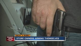 Store owners arming themselves for protection