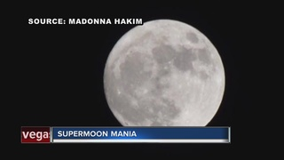 Las Vegans stoked about Supermoon