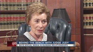 Judge Judy weighs in on social media addiction