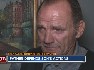 Father speaks out after police-involved shooting