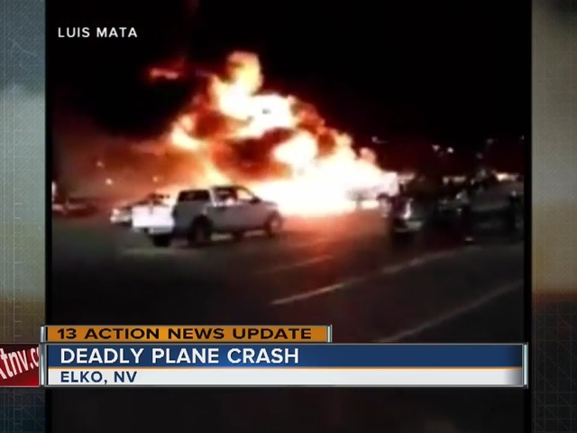 4 killed after medical transport plane crashes in Nevada