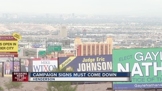 Campaign signs still up days after city deadline