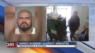 UPDATE: Man who robbed smog technician arrested