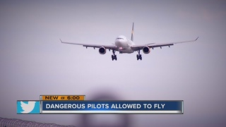 CONTACT 13: Pilots can keep flying despite DUIs