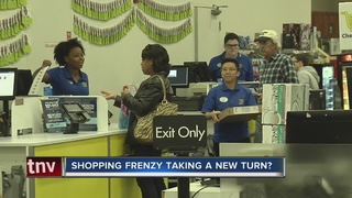 Shorter lines as Black Friday approaches