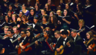 300 students performing in holiday concert