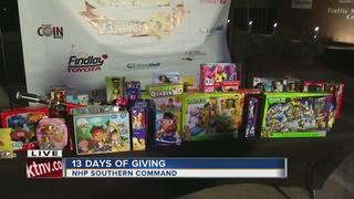 13 Days of Giving kicks off in Las Vegas