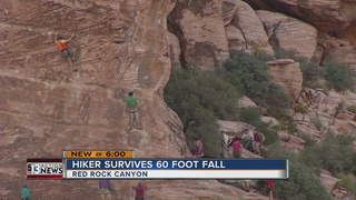 UPDATE: Hiker rescued after Red Rock fall