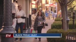 No big crowds on Black Friday in Las Vegas