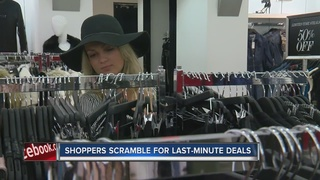 Shoppers late to Black Friday miss out on deals