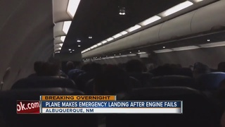 Plane makes emergency landing after engine fails