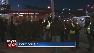 6 people arrested during Fight for $15 rally