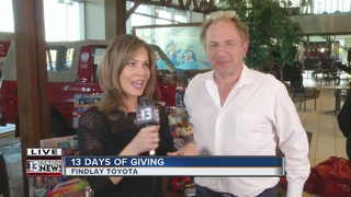 Come donate toys at Findlay Toyota in Henderson