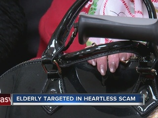 'Gypsies' target elderly women