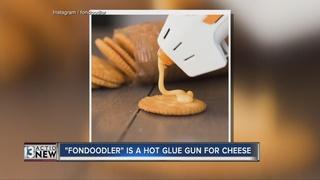 A hot glue gun for cheese