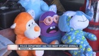 Police department has too many stuffed animals
