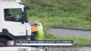 WATCH: Violent road rage caught on camera