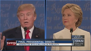 UNLV presidential debate generates millions