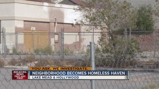 Response to homeless issue in neighborhood