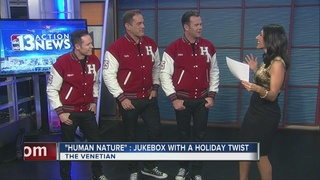 Human Nature's holiday show with a twist