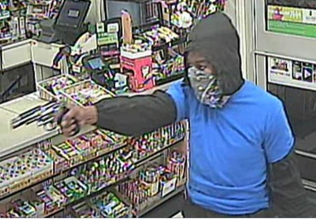 Armed robbery suspect on the run from police