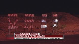 Man killed in single-vehicle crash Saturday