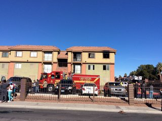 Residents evacuated in apartment fire