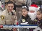 Santa flies to Walmart to help kids in need