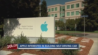 Apple wants to build self-driving cars