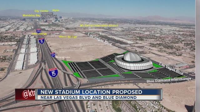 New possible Raiders stadium location suggested
