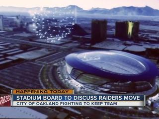 Vegas officials seek stadium site for Raiders