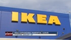 IKEA expands parental leave to 4 months
