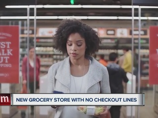 Amazon Go offers grocery shopping with no lines