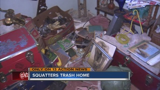 UPDATE: Squatters leave North Las Vegas home