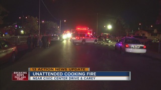 Unattended cooking cause of fire that killed 3