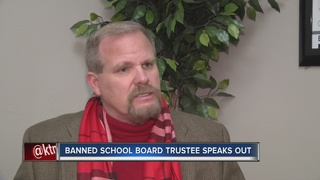 UPDATE: Trustee responds to school visit ban