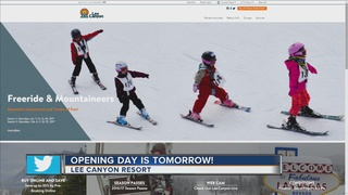 Lee Canyon opening on Friday