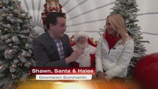 See Santa At Downtown Summerlin 12/8/16