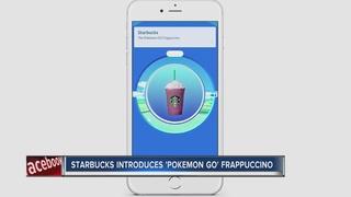 Starbucks introduces Pokemon Go Frappuccino