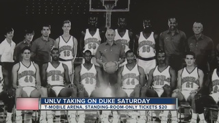 Limited tickets on sale for UNLV vs. Duke