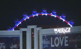 High Roller red, white and blue to honor Glenn