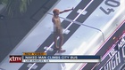 VIDEO: Naked man on top of Los Angeles bus