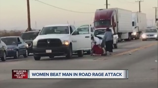 VIDEO: Women attack man in road rage incident