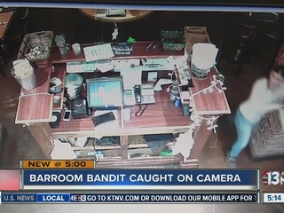 CAUGHT ON CAMERA: Woman steals purse at bar